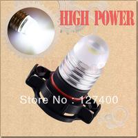 2pcs H16 Pure White 3W High Power 5202 5201 PSX24W DRL Fog Car LED Light Bulb Lamp