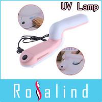 9W Nail Art UV Lamp Nail Gel UV Curing Dryer UV Light(110V/220V), Free Shipping, Dropshipping