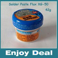 free shipping, (2 pcs/lot) XG-50 42g Soldering Solder Paste 100% brand new