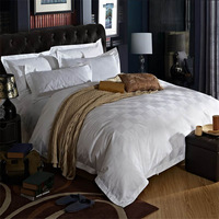 Hot! Very Luxurious Five-star Hotel Style 4pc 100%Cotton Queen/Full/King Size Bedding Set Comforter Cover Set Bedclothes Bedline