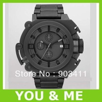 HK post Free shipping men's DZ4244 fashion watch Steel belt fashion Wristwatches +original box