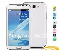 "2013 New arrival N7100 MTK6577 Dual Core 5.5""  Android 4.2   Galaxy Note 2   WIFI  3G Mobile  Phone Free shipping"