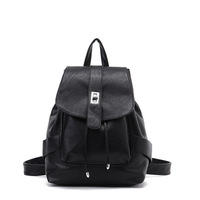2013 women's backpack school bag travel bag PU women's handbag 6955 free shipping