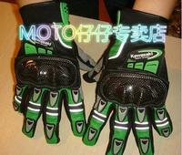 Motorcycle gloves kawasaki KAWASAKI glove racing gloves top version