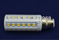 B22 6W  36PCS SMD 5050 LED Cool white Warm White Lamp Light Energy Saving Bulb Free Shipping