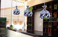 FREE SHIPPING chandelier bar pendant lamp ZZP67 Dropligh wrought iron ball purple crystal chandelier