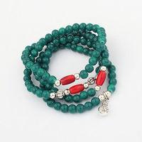 2013 New Arrival Free Shipping Multilayer Joker Buddha Beads Bracelet Fashion Beads Bracelet Wholesale And Retail BL0137