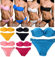 VS bikini swimwear set 2013 push up victoria Free Shipping beachwear dress Sexy Women Swimwear Fashion Swimsuit Gift