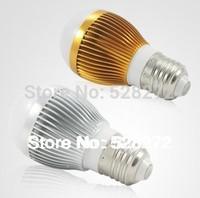 110V220V230V240V LED Dimmable Bulb lamp High Power 3W(300LM) 5W(500LM) B22 E27 LED spotlight lamp,Cold White/Warm White 2Pcs/Lot
