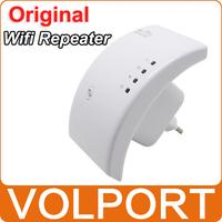 Original Portable Wireless Wifi Repeater 802.11N/B/G Network Router Range Expander 300M Antenna Signal Booster EU Plug
