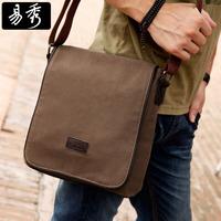 Eshow brown black khaki canvas vintage men messenger bags man shoulder bag satchel bag BFK010251