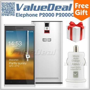 "Original Elephone P2000 P2000C MTK6592 Octa Core Cell Phone Android 4.4 5.5""1280*720 2GB RAM 16GB ROM 13MP Camera 3G GPS OTG NFC"