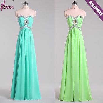 Latest Designs Prom Длинный Шифон Cheap Evening Dress 2014 Кружево-up Back Evening ...