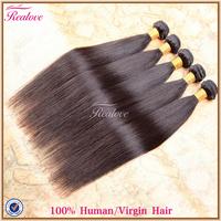 "malaysian hair straight human hair weave 5/6pc 8""-30"" free shipping malaysian straight hair extensions cabelo funmi realove hair"