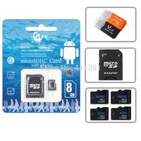 Real capacity memory card class10 Micro SD CARD 32GB 64GB Memory flash TF CARD Gift reader+Gift adapter