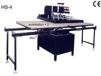 Heat Transfer/Press Machine, Oscillating Auto-sublimation Printer, L400*W400mm, Print T-shirt, Glass, Metal, Ceramic,Wood, Video