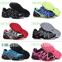 Free Shipping New Salomon Speedcross 3 Men and Women Athletic Running Shoes solomon tenis Zapatillas Hombres de correr salamon(China (Mainland))