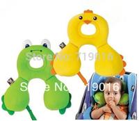 HWP Baby Pillows Children's neck pillow Safety travel pillow U memory pillow Seat Supports 0 - 4 annum