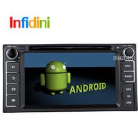 Pure Android 4.2 dvd gps for Toyota Hilux VIOS Old Camry Corolla Prado RAV4 Prado 2003 2004 2005 2006 2007 2008+Reverse camera