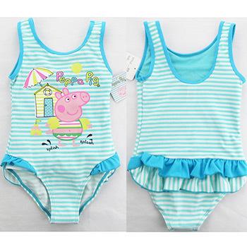 Peppa Pig  Swim wear Girls Baby Kids cartoon Swimsuit Bathing One-piece Beachwear children Christmas Gift