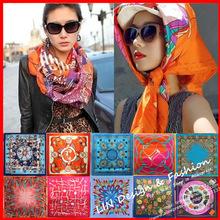 female scarf promotion