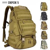 FREE SHIPPING Men Women Unisex Outdoor Military Tactical Backpack CampHiking Bag Rucksack 45L MOLLE Large Big Ergonomic Gear