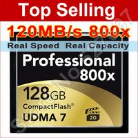 Lexar 64GB 800x CompactFlash Card 120MB/s UDMA 7 VPG CF Compact Flash Memory Card For DSLR Cameras 1080p Full HD Video Camcorder