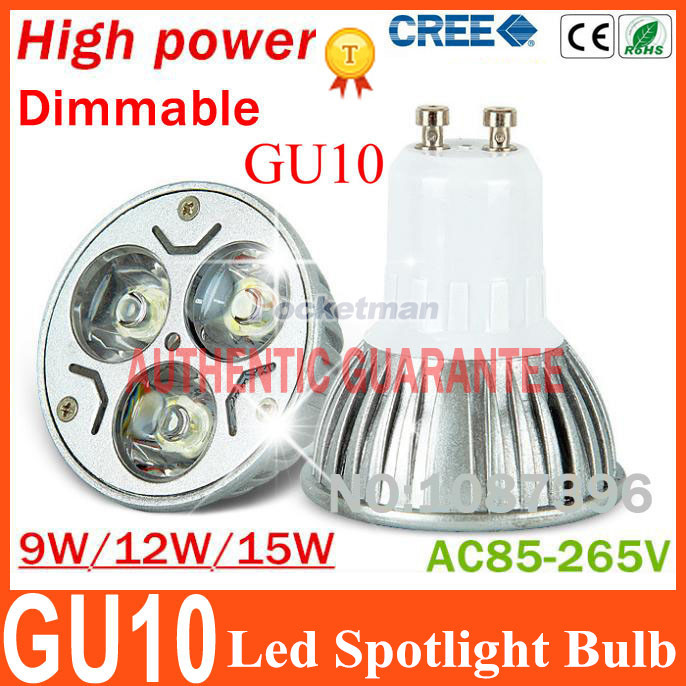 -High-power-CREE-Led-Lamp-9W-12W-15W-Dimmable-GU10-Led-spot-Light