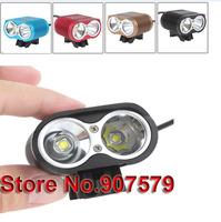 3T6 bicycle light 3800 Lumen 3x CREE XM-L T6 LED Headlight or Headlamp for LED Bike Light