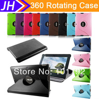 """Free Stylus 360 Rotating PU Leather Case Cover For Asus MeMO Pad FHD 10 ME302C 10.1"""" Free Shipping"""