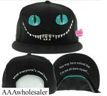 New 2015 Alice in Wonderland Cheshire Cat cartoon baseball caps BUGS BUNNY SYLVESTER hats for Men