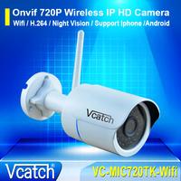 Onvif 2.0 Mini Wifi IP Camera Outdoor 720P Waterproof IP66 Wifi Network 1.0MP Wireless HD CCTV Camera P2P Plug Play
