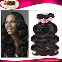 Aliexpress Mocha Hair 6A Brazilian Virgin Hair Body Wave Wavy Hair Style Thick Human Hair Extension Wholesale Mix lot 4 Bundles