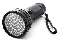 Dropshipping 3pcs/lot Black Flashlight 51 UV LED Scorpion Detector Hunter Finder Ultra Violet Blacklight Torch Light Lamp TK1114