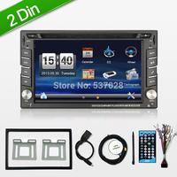 Car DVD GPS PC Navigation 2DIN Car Stereo Radio Car GPS Bluetooth USB/SD Universal Interchangeable Player