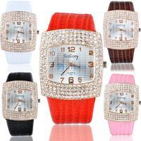 New 2014 Fashion Watches Quartz Hours Women Rhinestone Crystal Dress Watch Casual Luxury Clock Lady Wrist watch SV000495 #03