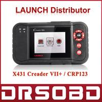 Promotion Sales Original Launch Creader VII+ Code Scan Tool OBD Full Function X431 Creader 7 plus Auto Code Scanner