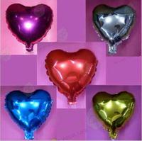 50PCS 18'' Heart Shaped Good Quality Wedding Balloon, Lustre, FREE SHIPPING
