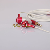 In Ear Earbud Super Bass Earphone earset  in ear for MP3 MP4 with retail box