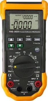 YHS-302A Potable Multifunction Signal Loop Process Calibrator Meter With Multimeter