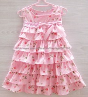 Beautiful (3Pcs/lot) Cake Dresses/Summer Girl's/Children's/Princess Dresses{iso-11-5-31-A2}