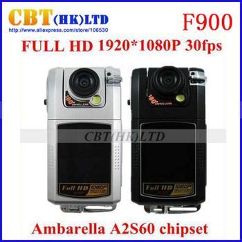Original Full HD Car DVR Video recorder register  1920*1080P 30FPS Ambarella A2S60 F900 16 MP itracker  freeshipping