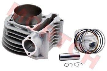 180cc( gy6 gran diámetro) cilindro de alto rendimiento kits para 125cc 150cc( 61mm) de moto atv karting ciclomotor envío gratis