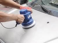 Car Care Tools Car polisher 12V 7 inches DC/AC 1 pcs car wax polishing machine NE-326+, car waxer,1pcs DHL free shipping