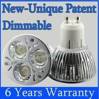 10X GU10 12W 9W 6W 3x3W Dimmable High power Rotundity CREE Light LED Bulb Lamp Downlight AC 85-265V