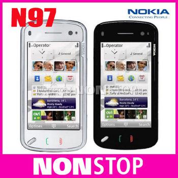Unlocked Original Nokia N97 Internal 32GB mobile phone GSM 3G GPS WIFI 5MP 1 Year Warranty