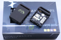GPS Tracker TK102B Quad band SD card, Retail box!  shock sensor Geo-fence  Web& Free PC 11 languages GPS tracking system