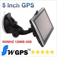 Free shipping 5 inch GPS Navigation WINCE 6.0 DDR128M FM+4GB Navitel8.5 2014 Maps Russia Belarus Ukraine Kazakhstan