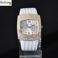 Fashion Quartz Watches Women Rhinestone Crystal Dress Watch Casual Luxury Clock Ladies Wristwatches New 2014