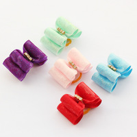 dreambows Handmade Accessories Pets Simple And Elegant European Style Ribbon Bow #db1011 Pet Bow, Puppy Supplies.